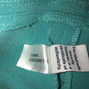 """Diane Von Furstenberg Dresses - Diane von Furstenberg Tropic Blue """"Carpe"""" Dress 8"""